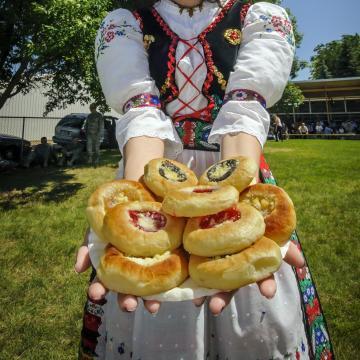 Kolaches at Tabor Czech Days