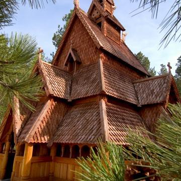 Chapel in the Hills/Stavkirke