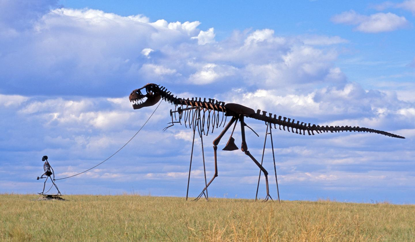 """Pet Dinosaur,"" near Murdo"