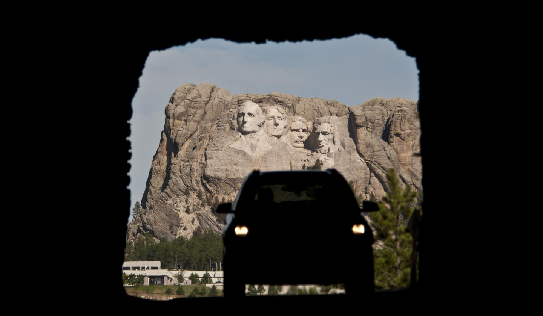 Mount Rushmore - Iron Mountain Road