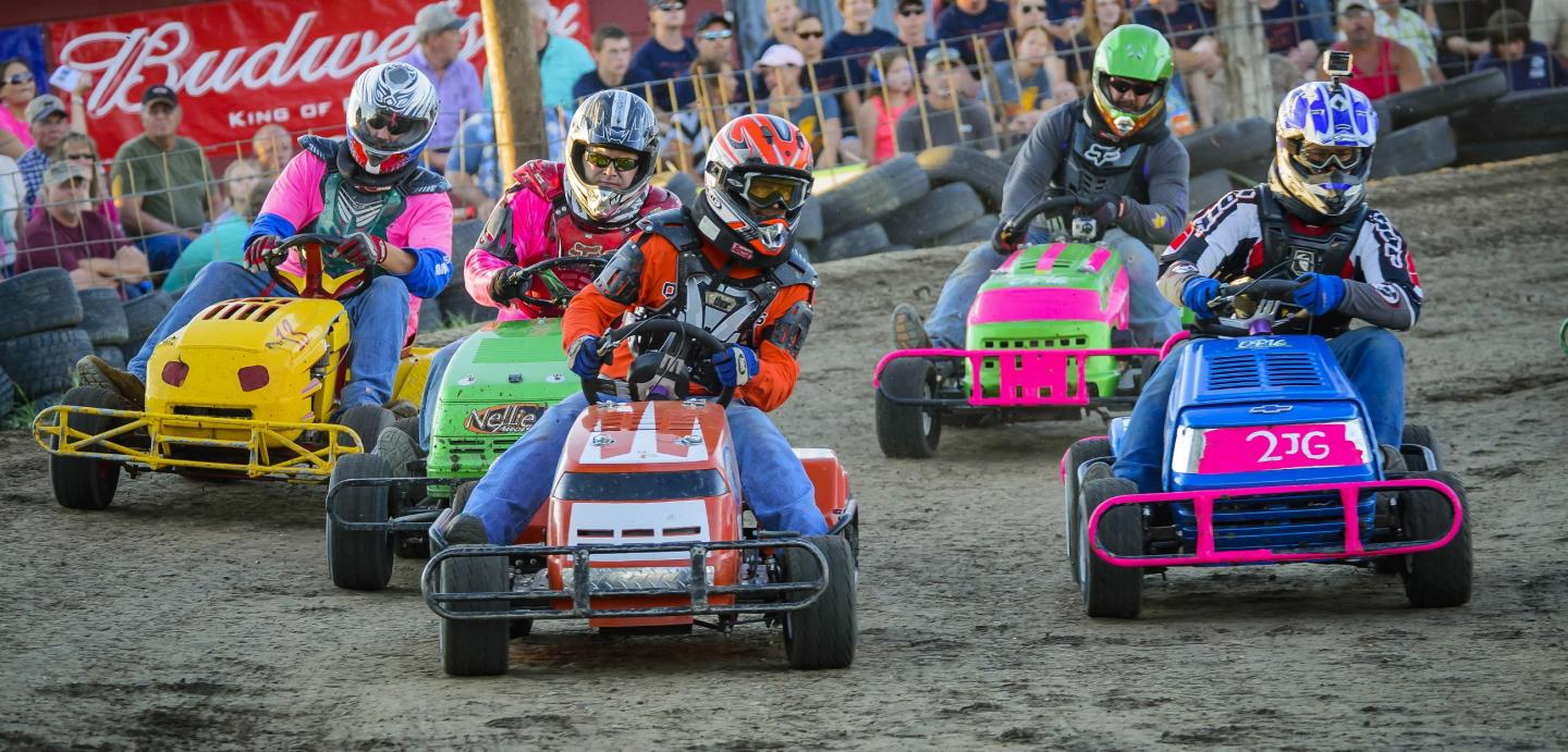 Pukwana Lawn Mower Races