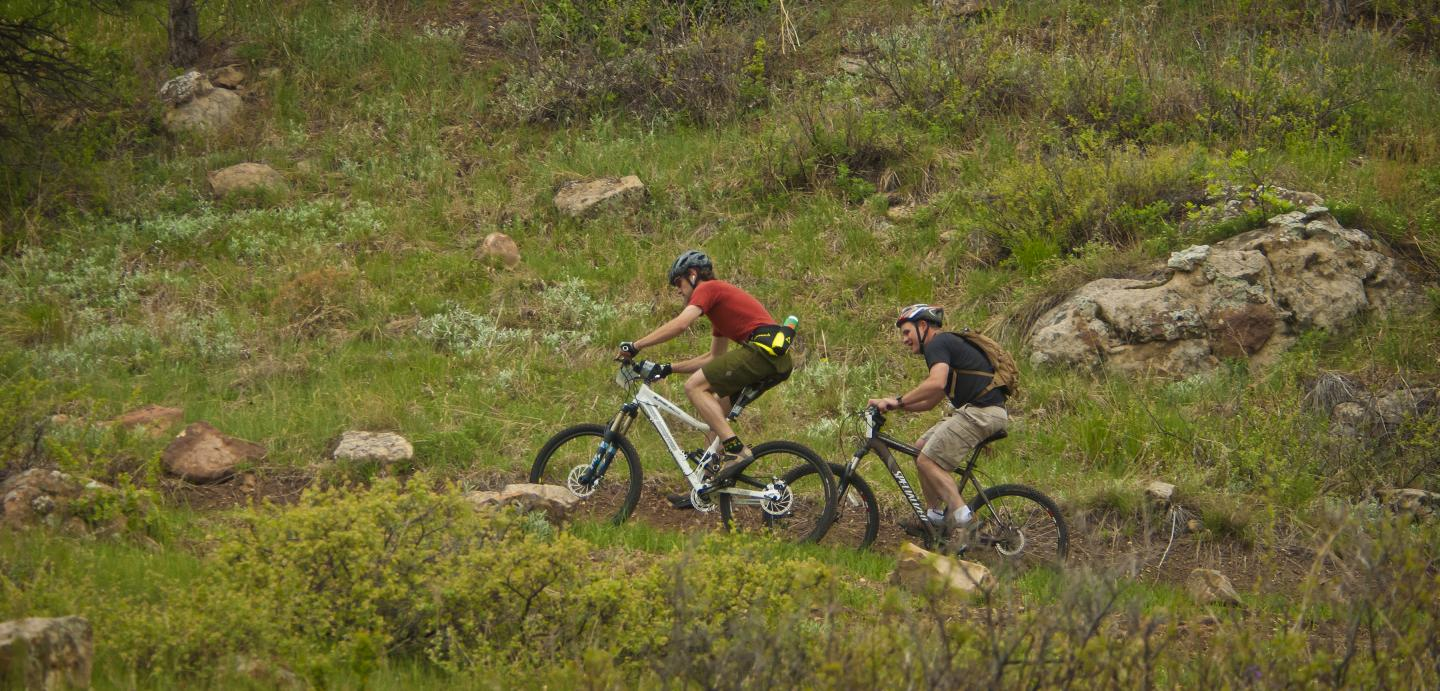 Mountain Biking - Alkali Creek Trail