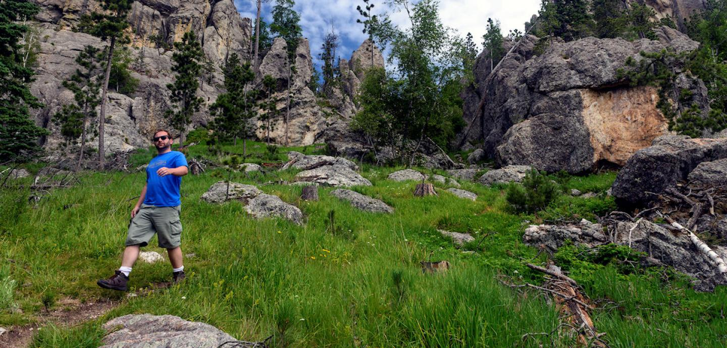 Black Elk Peak Trail, Black Hills hiking