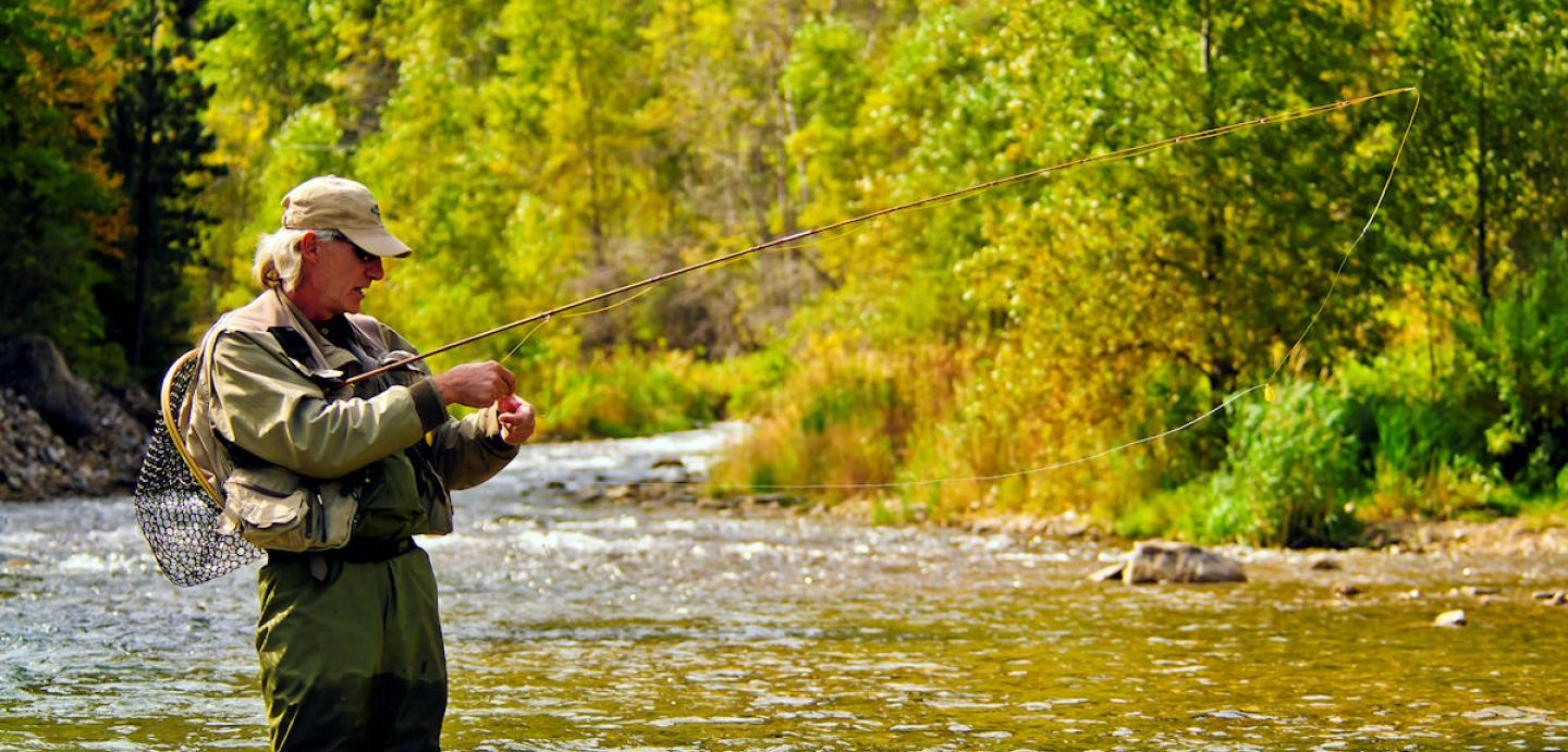 fly fishing, Spearfish Creek