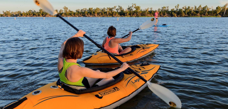 Kayaking, Missouri River