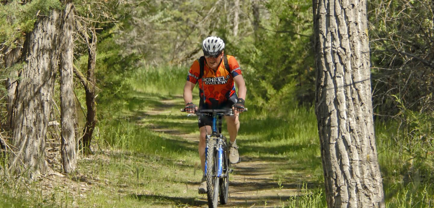Mountain Biking - LaFramboise Island Nature Area