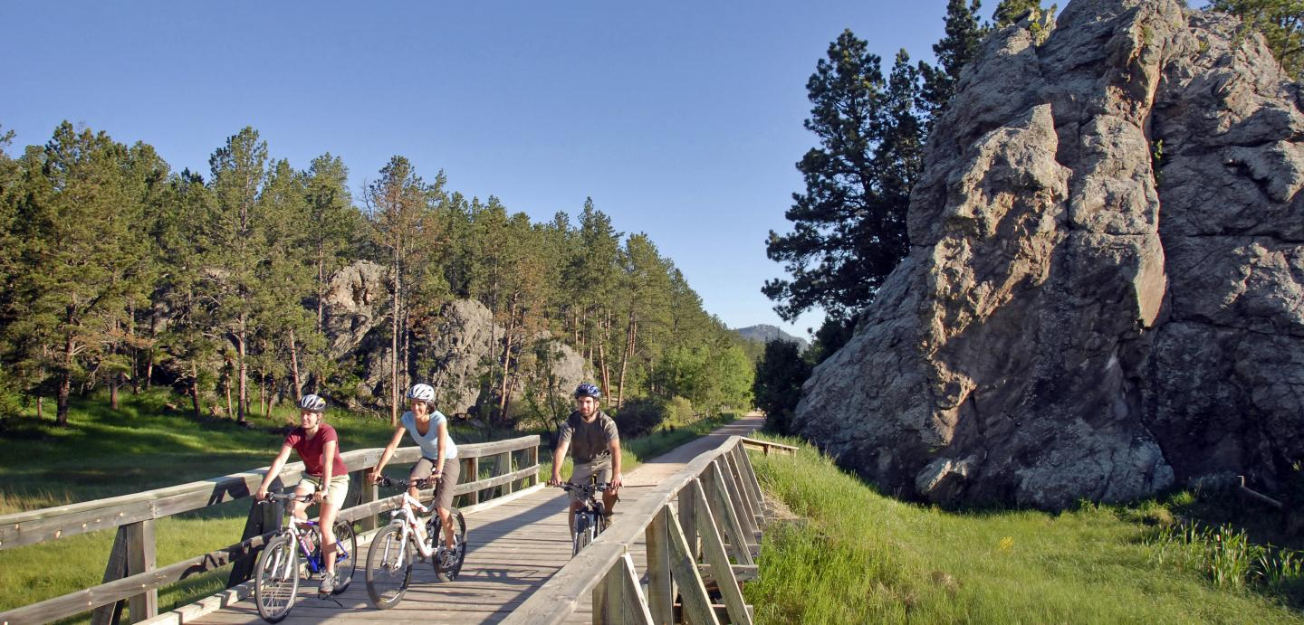 Mickelson Trail in the Black Hills