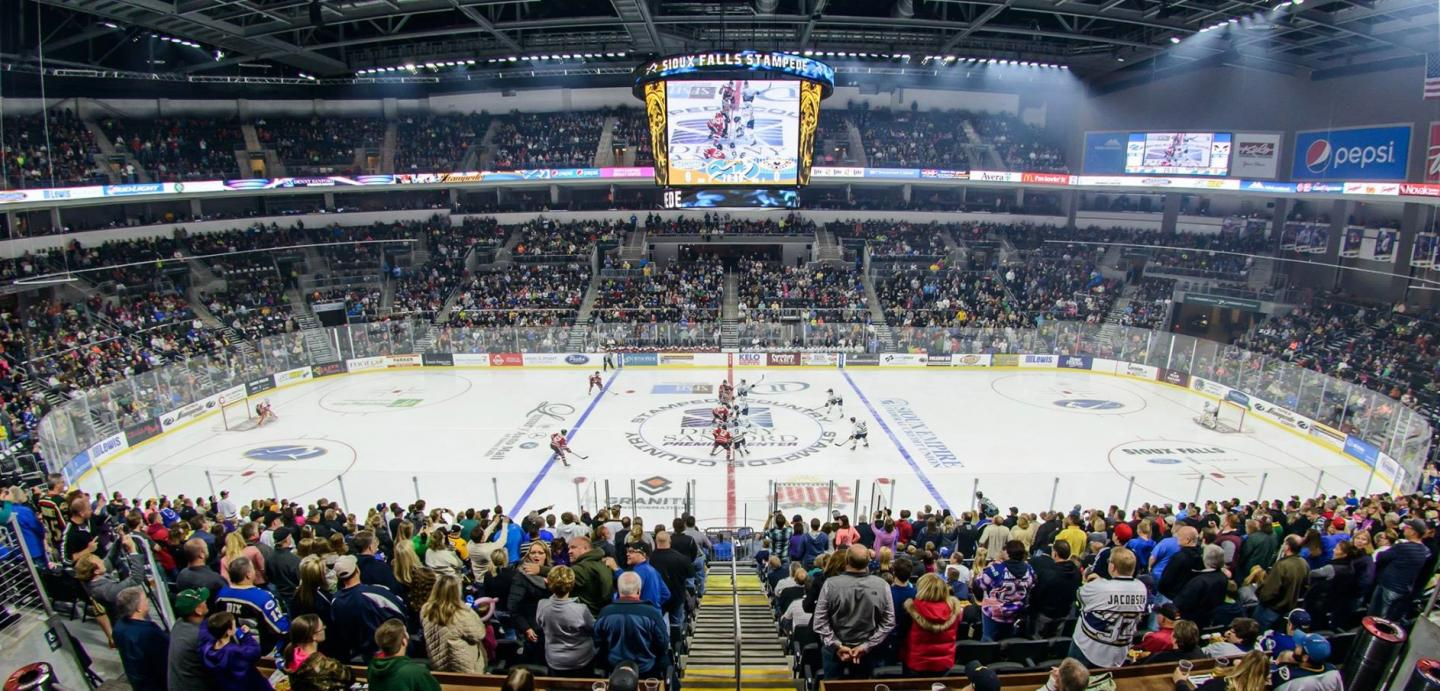 Image result for brookings blizzard crowd