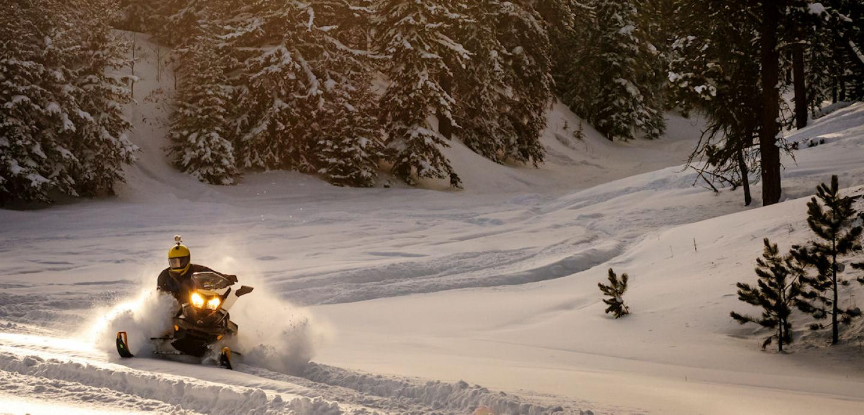 Snowmobiling in South Dakota's Black Hills