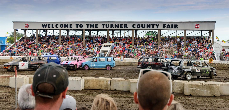 Demolition Derby Turner County Fair