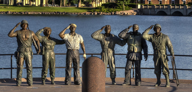 World War II Memorial, Pierre