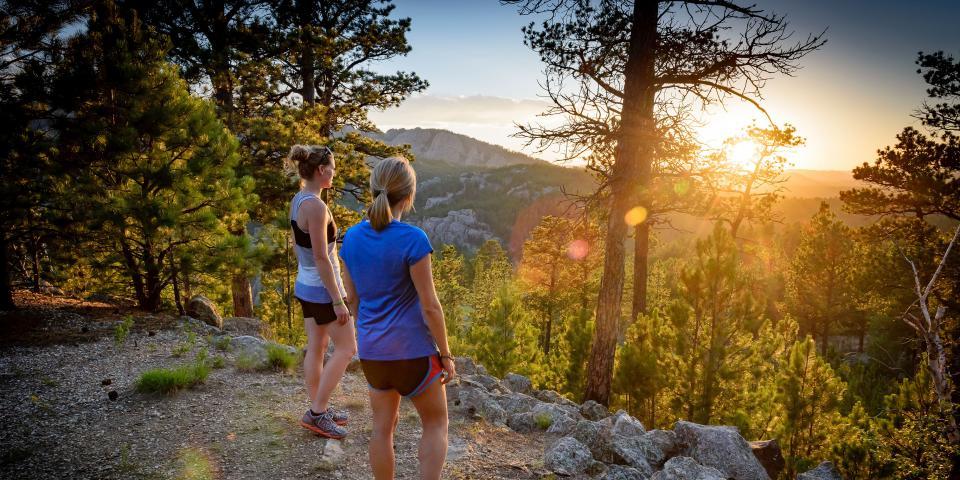 Hiking Black Hills National Forest South Dakota