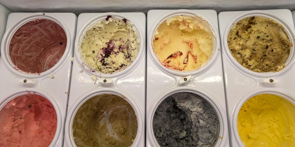 The Purple Cow Ice Cream Parlor Ice Cream Selection - Waubay