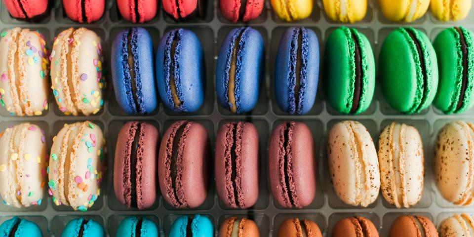 Macaron Sleeves C.H. Patisserie | Downtown Sioux Falls