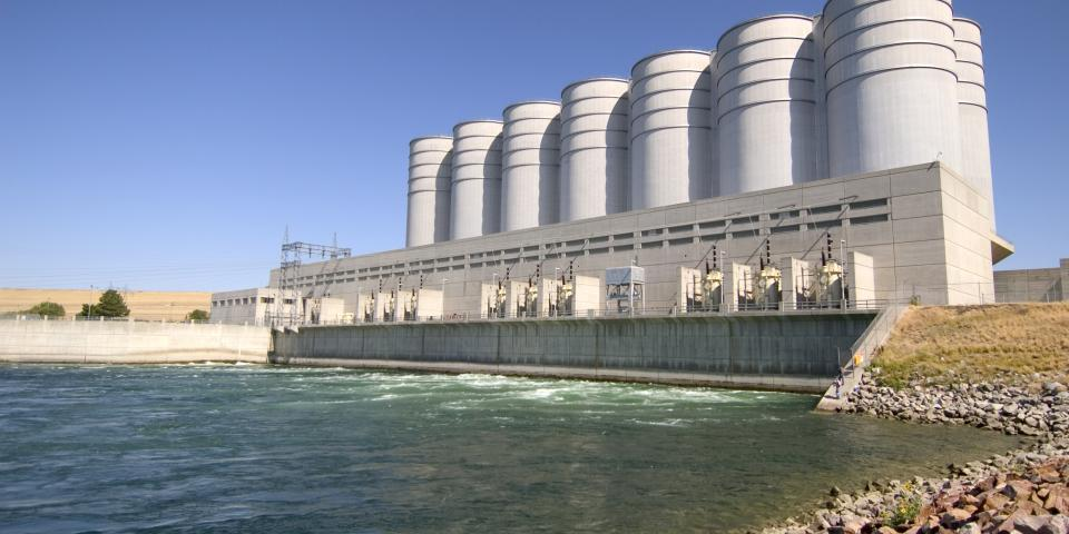 Oahe Dam, near Pierre
