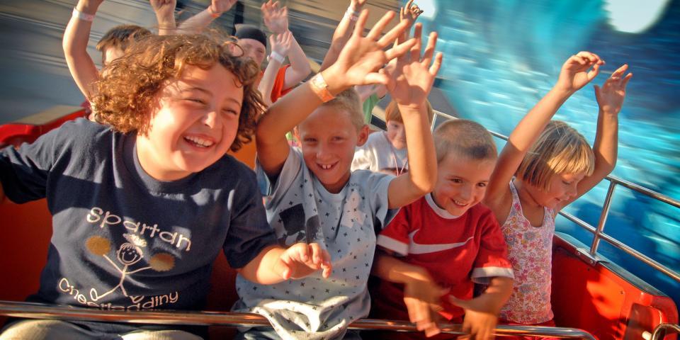 Kid's Carnival Ride South Dakota State Fair - Huron