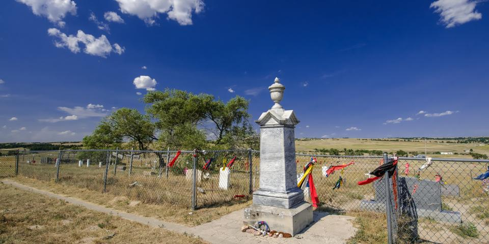 Wounded Knee Cemetery, near Porcupine
