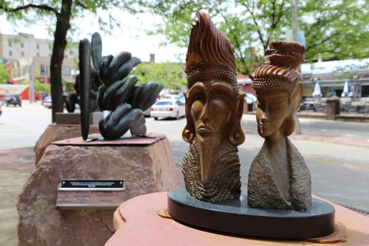Phillips Avenue Sculpture Walk