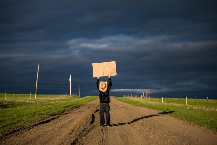 South Dakota road by Jill Emmer