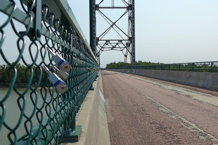 Meridian Bridge, Yankton