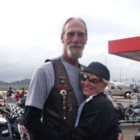 jill and mike at sturgis
