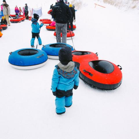 Great Bear Recreation Park | Family Winter Sledding | Sioux Falls, SD