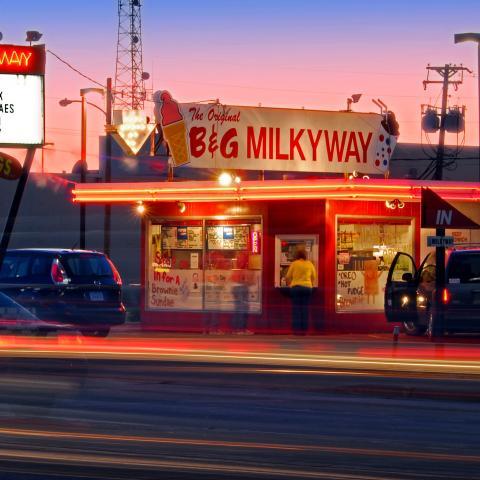 B&G Milkyway Exterior - Sioux Falls