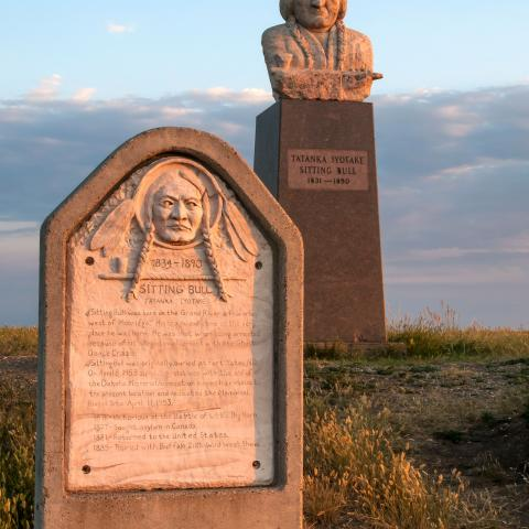 Sitting Bull Monument | Mobridge | Native American Scenic Byway