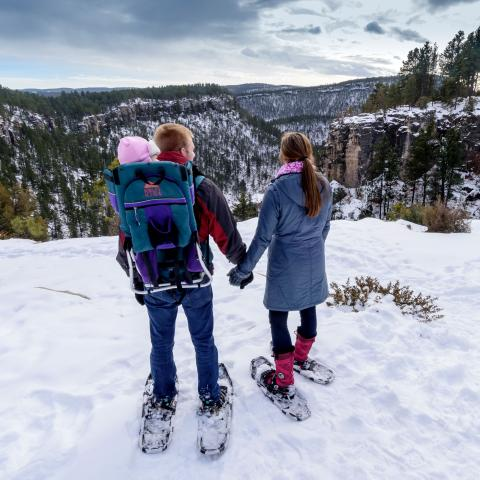 Snowshoeing Black Hills National Forest
