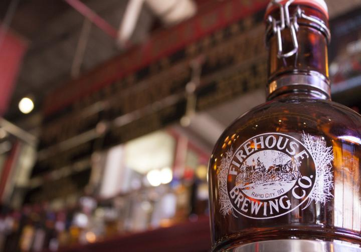 Take our award winning beer to-go in a Firehouse growler