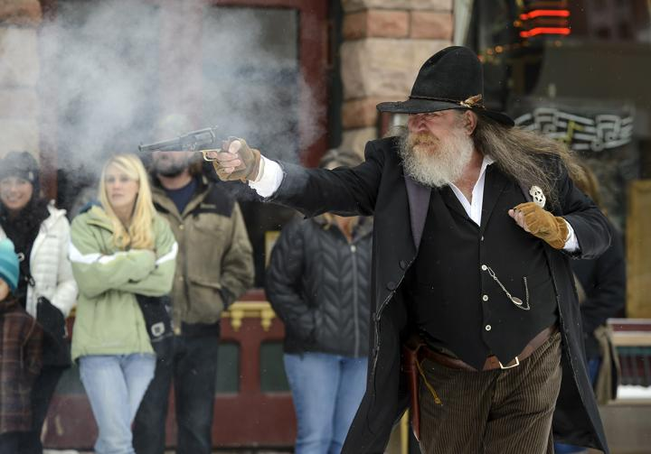 history shootouts gunfights re-enactors true west outlaws