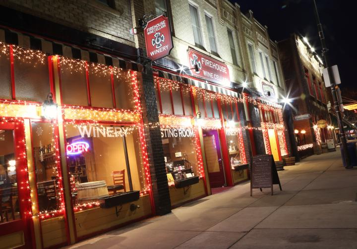 Firehouse Wine Cellars is located in Downtown Rapid City