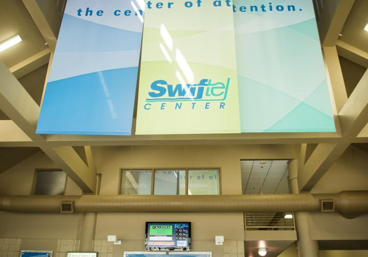 Our Lobby & On-Site Box Office | Swiftel Center