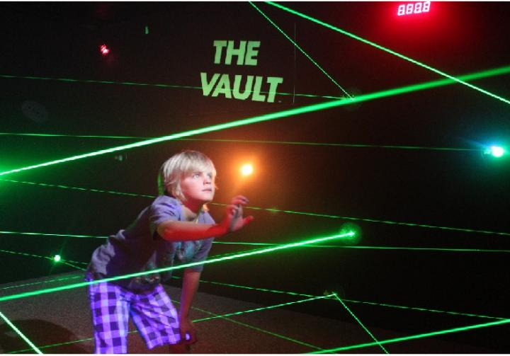The Vault-Laser Maze Challenge!