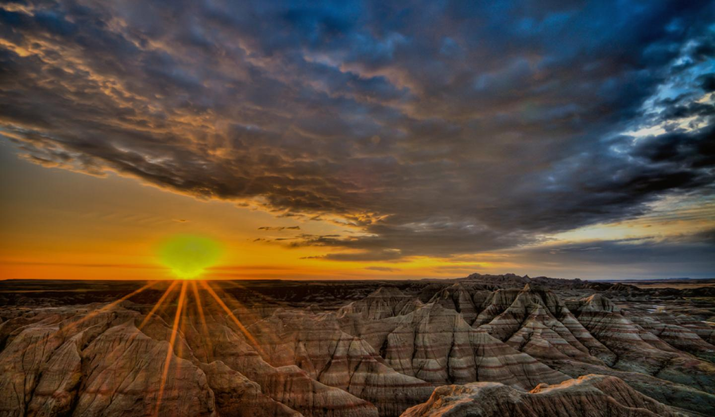Badlands National Park - South Dakota - Monuments & Forests